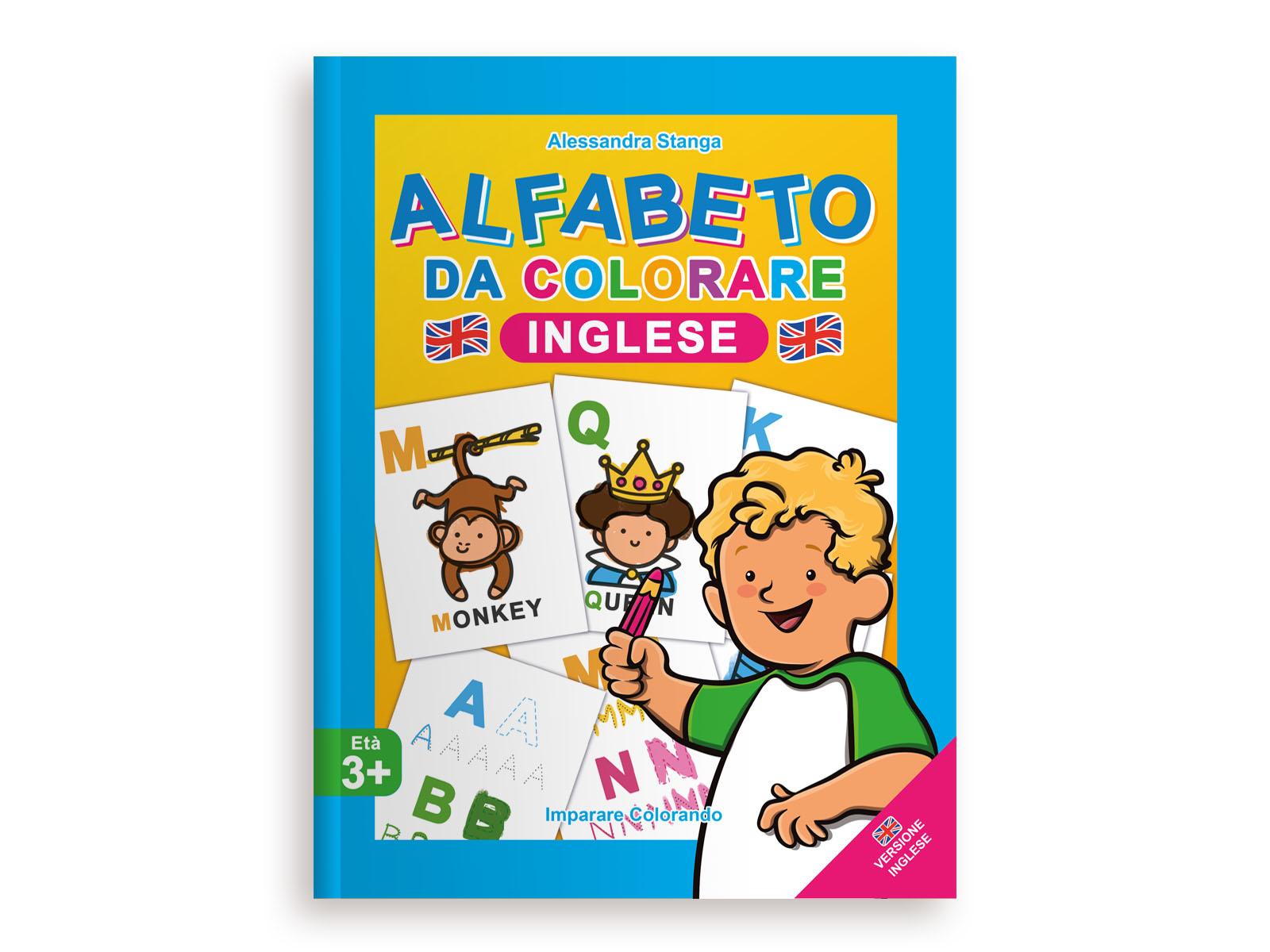 Alfabeto da Colorare Inglese