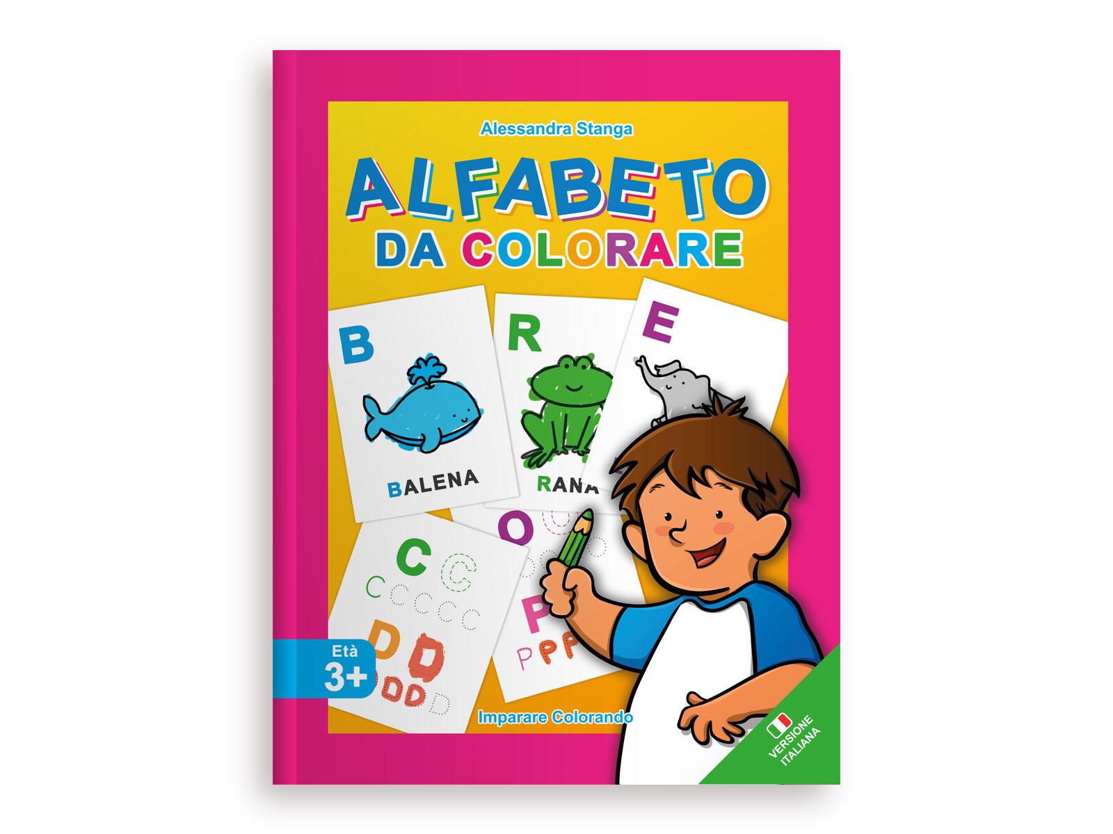 Alfabeto da Colorare Italiano